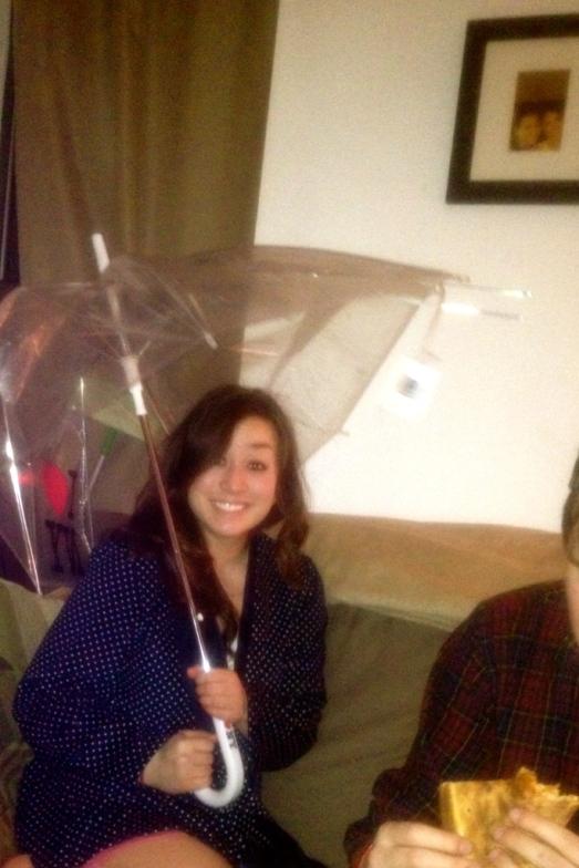times square umbrella