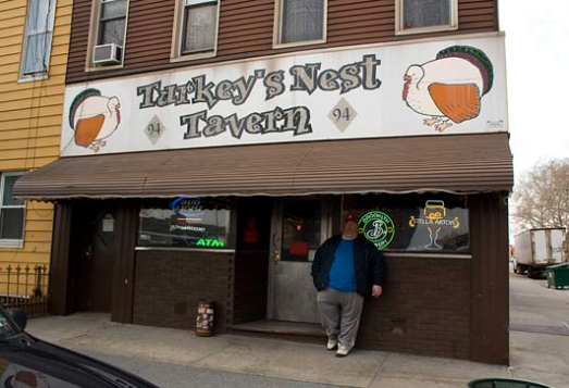 Nothing sets the mood quite like the Turkey's Nest Tavern...
