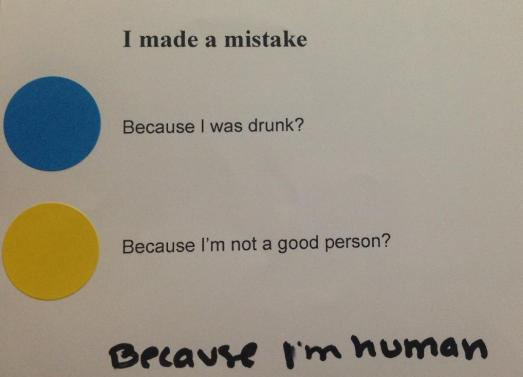 reason mistake
