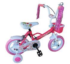 small pink bike