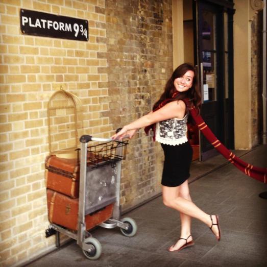Party at Hagrid's.